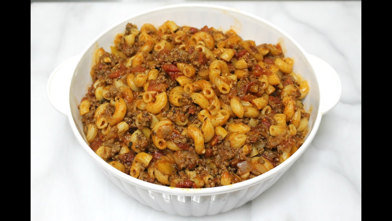 Goulash recipe pasta with ground beef in the kitchen with goulash recipe pasta with ground beef in the kitchen with jonny episode 132 youtube forumfinder Gallery