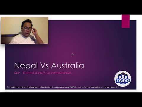 Australian Student Visa Vs Study in Nepal