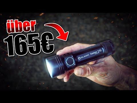 Seeker 2 Pro von Olight - Taschenlampe Outdoor Bushcraft Ausrüstung Review   Fritz Meinecke - Gear