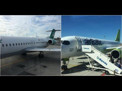 Trip report: Carpatair & Air Baltic Business Class Fokker 100 & CS300 OSL-RIX-CDG, BT152 & BT693