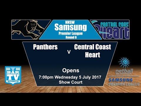2017 Samsung Premier League Round 6 Opens - Panthers v Central Coast Heart (Show Court)