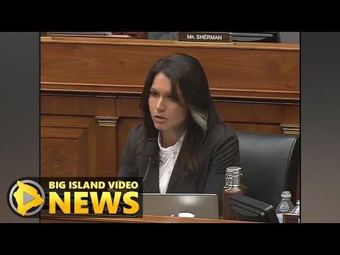 Tulsi Gabbard Questions North Korean Defector (Nov. 1, 2017)