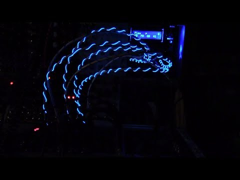 Glowing Euorack Patch Cables