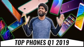 Top 5 UPCOMING PHONES 2019 Q1 in INDIA!🔥🔥🔥