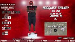 Houston Football: 2019 NSD: Rodquice Chaney