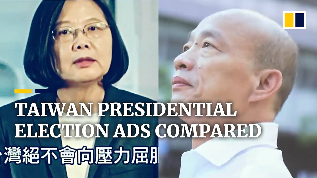 Download Taiwan presidential election: ads reflect contrasting campaigns of hopefuls Tsai Ing-wen and Han Kuo