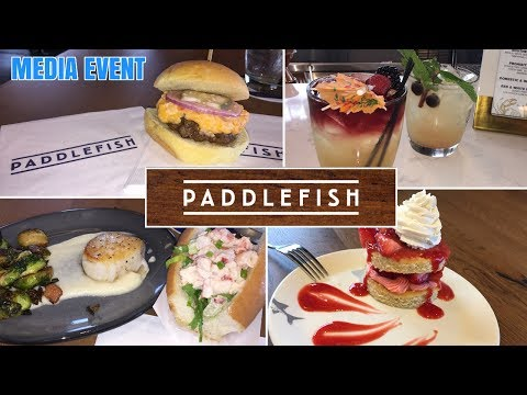 Paddlefish Toast To Summer Media Event Disney Springs (Walt Disney World)