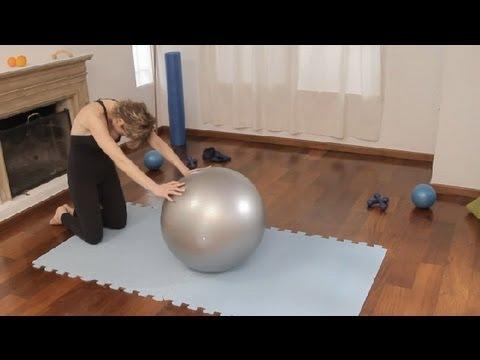 Ejercicio para la movilidad de la columna : Ejercicios de Pilates 5