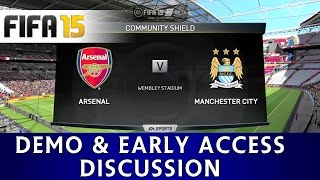ttb fifa 15 gameplay arsenal vs man city demo early access discussion more