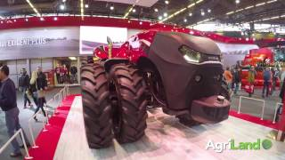 SIMA 2017: A close look at Case IH's autonomous tractor