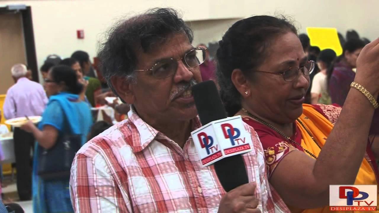 Tushar Basu, Past President speaking to Desiplaza TV at Anandbazar