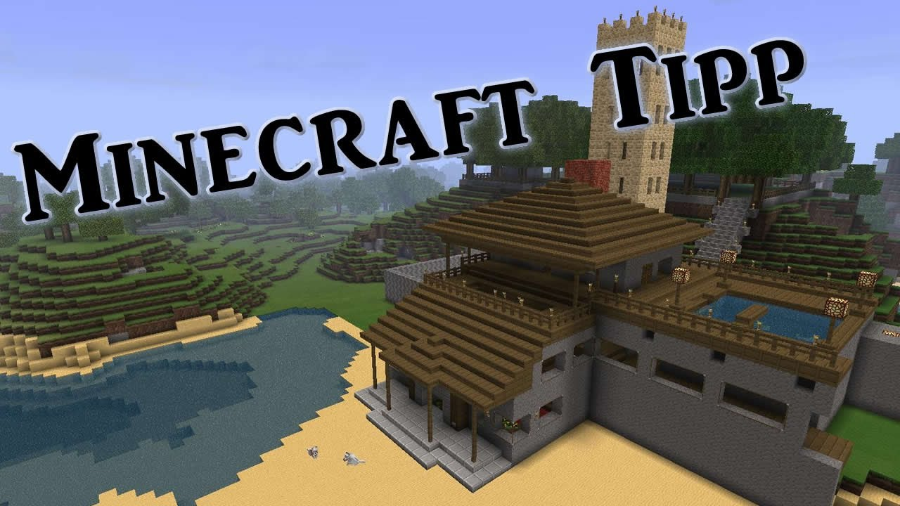 MCEdit Minecraft Altes Haus In Die Neue Welt Kopieren DEBITOR - Minecraft hauser kopieren