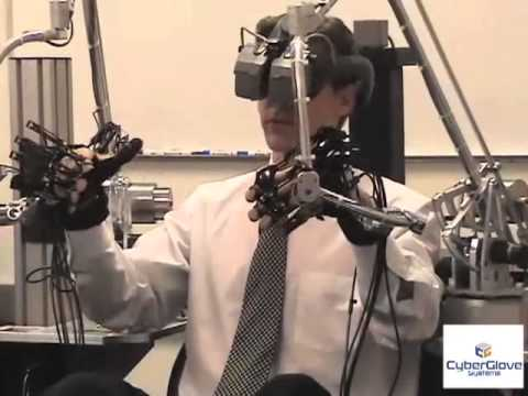 CyberGlove Systems Haptic Workstation Overview