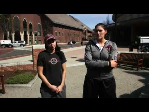 Old Friends, Together Again: Stefanie Dolson & Bria Hartley