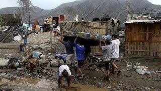 Перу  жертвами стихии стали уже 72 человека