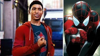 Miles Shows Off His Super Power At School -The Heist DLC- Spider-Man PS4
