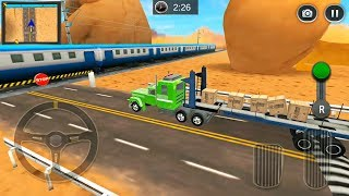 Highway Cargo Truck Transport Simulator #2 - Cargo Transport Driver 3D - Android Gameplay FHD