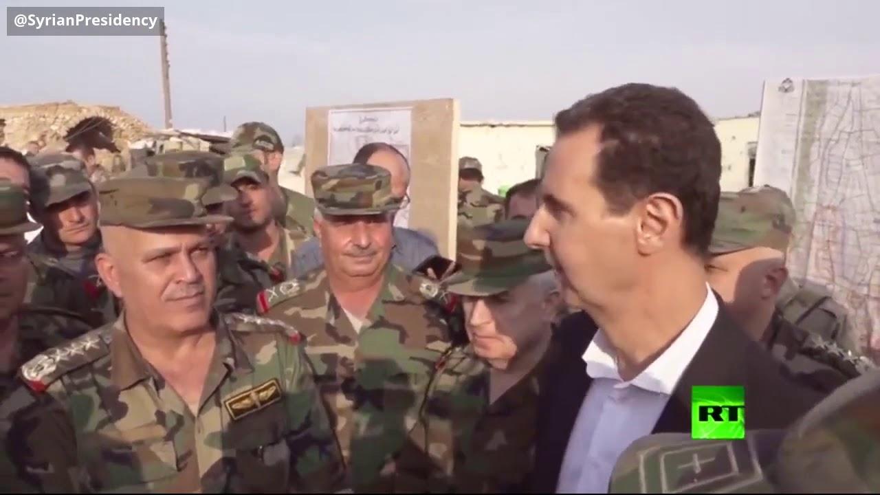 الأسد في إدلب