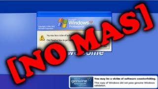 """Como Eliminar """"Usted Puede Ser Víctima De Una Falsificación De Software"""" En Windows XP"""