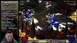 Diablo 2 - Grinding Chaos with the Javazon !!  01/31/2019