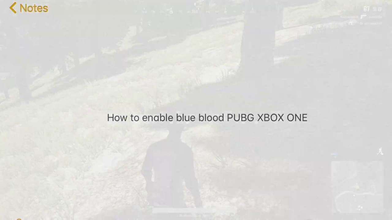 Blue blood on xbox is posible - Game Discussion & Feedback