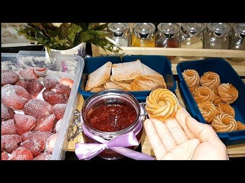 تحضيرات رمضان 2018 🌙للمرأة العاملة ستوفر عليك الوقت ألذ صلصة طماطم تجميد الفراولة و أسهل مربى
