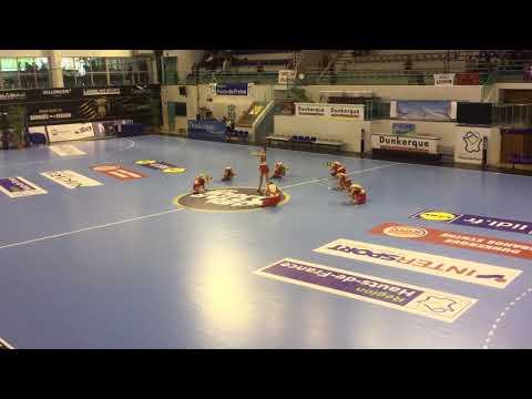 Petite danse twirl junior grâces twirling club championnat de France Dunkerque 2018