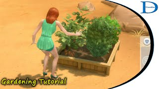 The Sims 4 - Gardening Tutorial - 02 Collecting Stuff