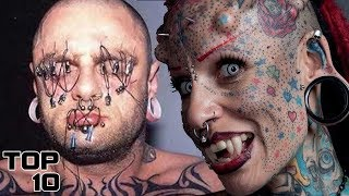 Top 10 Most Extreme Body Piercings