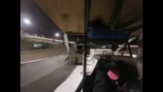 Hilary Ward Fulton Speedway 10/4/13 Heat Race