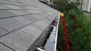 Newer Gutters Poorly Done