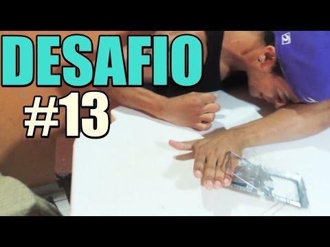 COLOCANDO A MÃO NA RATOEIRA DESAFIO #13