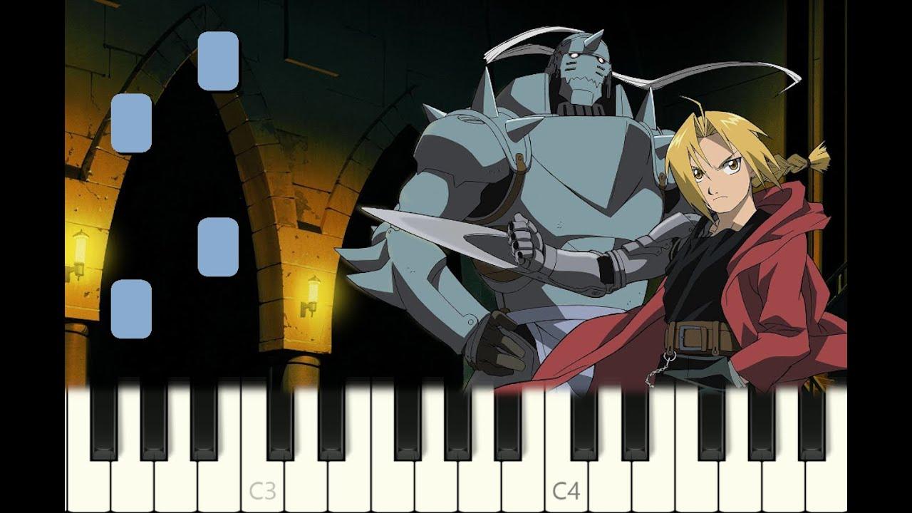 "piano tutorial ""AGAIN"" Fullmetal Alchemist Brotherhood ..."