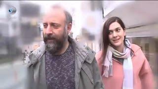 Bergüzar Korel, Halit Ergenç and Ali in Bebek (08/02/2017)