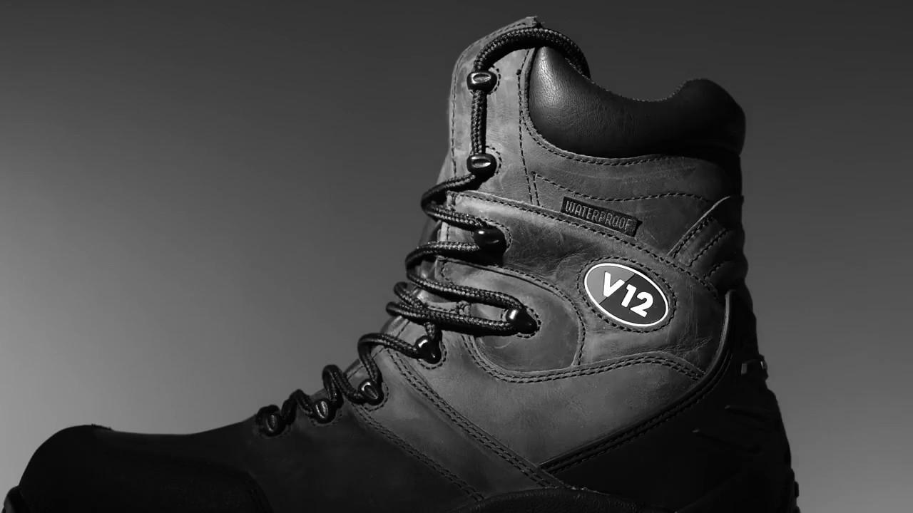 V12 Rocky Safety Boot - YouTube