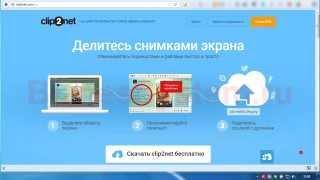 Как сделать скриншот экрана программой Clip2Net