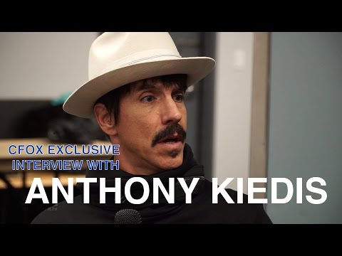 Anthony Kiedis Interview.  The World Famous CFOX - 2017