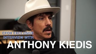 anthony kiedis interview the world famous cfox   2017