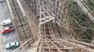 Gemini Front Row (HD POV) Red Side Cedar Point