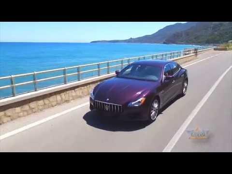 New Maserati Quattroporte in Palermo, Italy