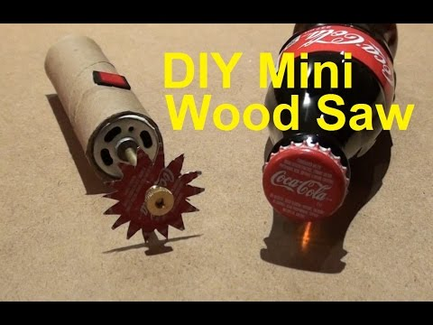 DIY How to Make a Powerful  Mini Dremel  Wood Saw at home