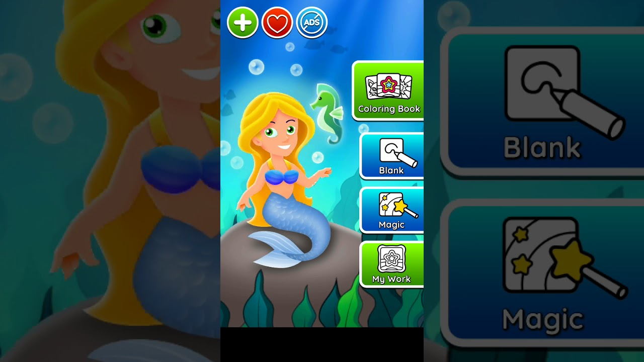 Download Mermaid coloring game part 3 with oopsi 😎