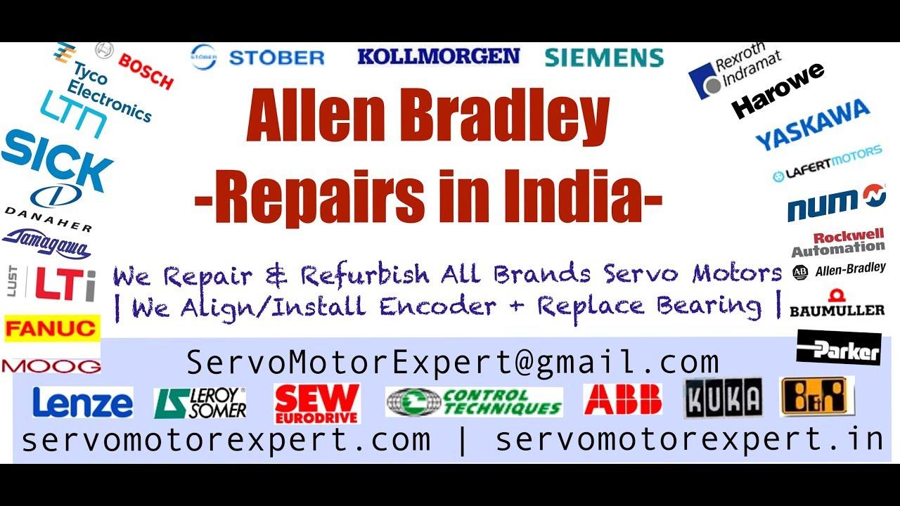 Allen Bradley Servo Motor Repair India - Faridabad|Ghaziabad|Gurgaon