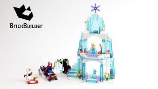Lego Disney Frozen 41062 Elsa's Sparkling Ice Castle - Lego Speed Build