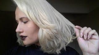 Como platinei meu cabelo em casa sozinha usando Cor e Ton 12.11