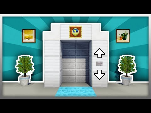 ✔️ MCPE: How to Build the BEST Elevator!