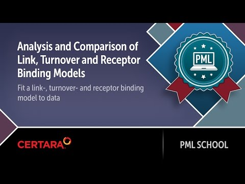 PML School: Analysis and Comparison of Link, Turnover and Receptor Binding Models