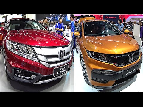 2016, 2017 Honda Crosstour VS HRV, CRV, XRV video comparison of models