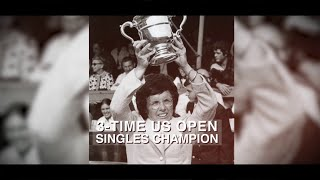 US Open 50 for 50: Billie Jean King, 1971, 1972 and 1974 women's singles champion