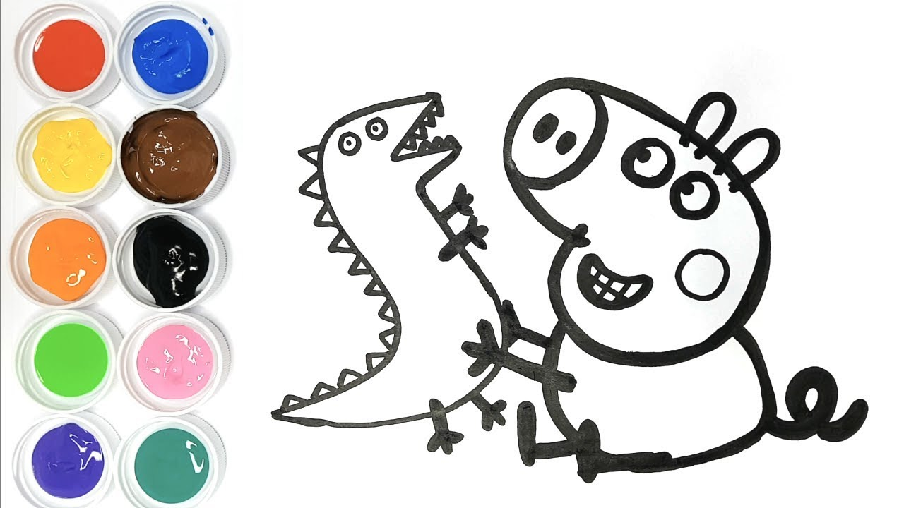 Coloriage Voiture Dinosaure